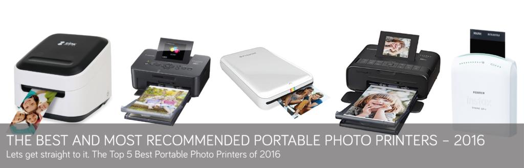 best portable printer 2016
