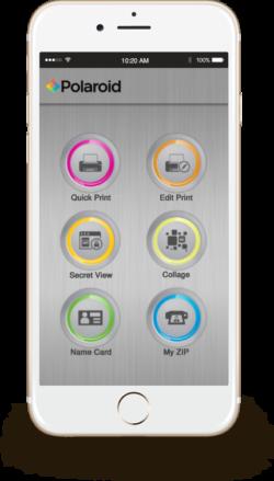 polaroid zip app