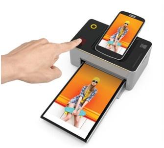 Kodak Dock And Wifi Photo Printer Image 2